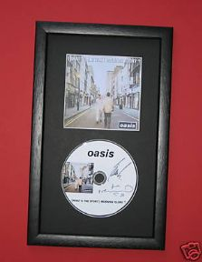 OASIS - (WHATS THE STORY) MORNING GLORY? CD DISC MEMORABILIA presentation
